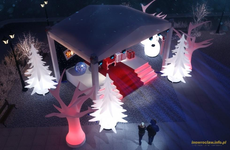 Festyny, Zakątek Świętego Mikołaja - zdjęcie, fotografia