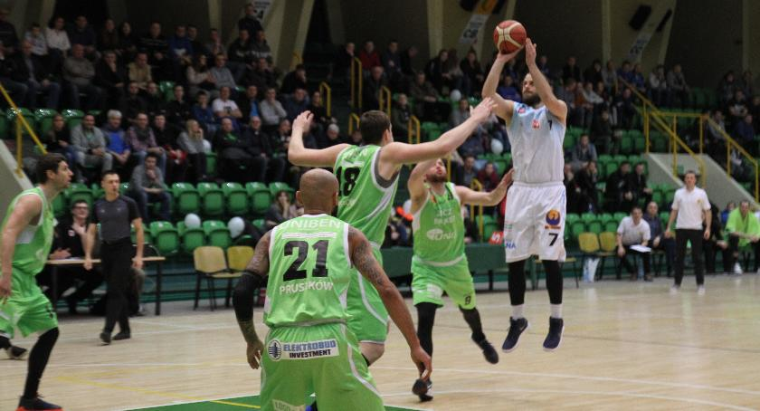 Koszykówka, Noteć rozstrzelana przez ekipę Pruszkowa - zdjęcie, fotografia