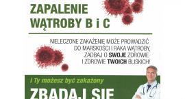 Skorzystaj z bezpłatnych badań w zakresie wykrywania zakażeń wirusowym zapaleniem wątroby typu B i C