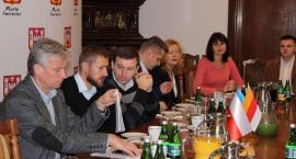 Ukraińscy samorządowcy goszczą w Inowrocławiu