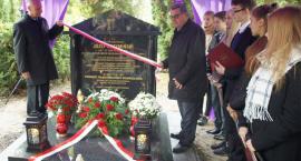 Odsłonili tablicę na grobie rodziny dra Józefa Krzymińskiego