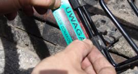 """Policyjne działania """"Oznakuj swój rower–poznaj swojego dzielnicowego"""""""