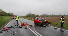 Tragiczne skutki wypadku drogowego