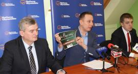 Konferencja prasowa Krzysztofa Brezjy