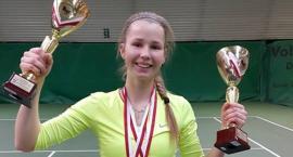 Dwa medale młodej tenisistki z Inowrocławia