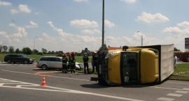 Groźny wypadek na Rąbinie, aktywne znaki nie pomogły!