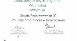 SP 10 z certyfikatem Wf z klasą